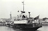1952 to 1964 - BP REFINER - Tanker - 797GRT/835DWT - 61.6 x 9.4 - 1944 Grangemouth Dockyard Co., No.460 as EMPIRE DRURY (1944-47) - SHELBRIT 6 (1947-52) - 1964 COSINA - 06/73 broken up at Palermo.