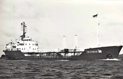 1966 to 1988, 1992 to 1994 - SILVERFALCON - Chemical Tanker - 1301GRT/1909DWT - 77.3 x 12.7 - 1966 Lodose Varf, No.146 - SANDPIPER (1988-1992) - 1994 DIDI, 1996 FERMAN SILVER - 22/04/98 wrecked Cesme, Izmir, Aliaga for Ashdod, 08/98 broken up at Aliaga.