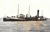 1962 to 1966 - SAND GALORE - Sand Suction Dredger - 3145GRT - 101.1 x 16.5 - 1935 Cammell Laird & Co., Birkenhead, No.1004 as HOYLE (1935-62) - 04/66 broken up at Grimstad.