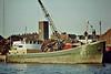 SUBRO VESTA (London) - Cargo - Great Yarmouth, to load scrap, 09/83.