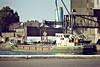1971 to ???? - SUBRO VENTURE - Cargo - 196GRT - 30.6 x 7.1 - 1971 JW Cook & Co., Wivenhoe, No.1415 - Ipswich, loading grain, 09/80.