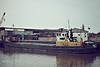 SUBRO VESTA (Rochester) - Wisbech, to unload fertiliser, 06/84.
