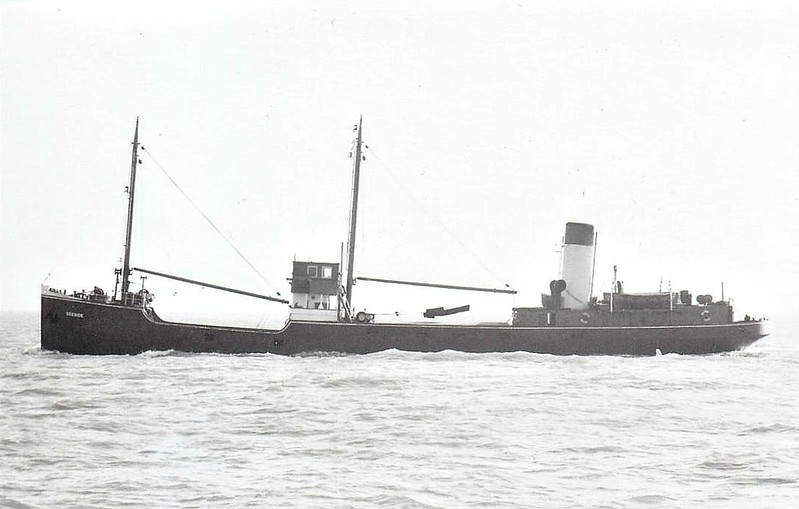 1958 to 1959 - DEESIDE - Cargo - 640GRT - 53.4 x 8.4 - 1924 Scotts Shipbuilding, Bowling, No.295 as GEM (1924-52) - RED SEA (1952-53), GLENAPP CASTLE (1953-58) - 11/59 broken up at Nieuwe Lekkerkerk.