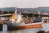 1990 to 2000 - LADY REA (Limassol) - IMO7702920 - Cargo - 1599GRT/3214DWT - 81.7 x 14.1 - 1978 Scheeps Bijholt, Foxhol, No.603 as SYLVIA DELTA (1978-85) - 1985 REGGELAND, 1987 CARIB SUN, 1988 ORTRUD, 1990 LADY REA, 2000 LADY MAGA, 2005 SKY HOPE (SLE) - still trading - seen here 11/96.