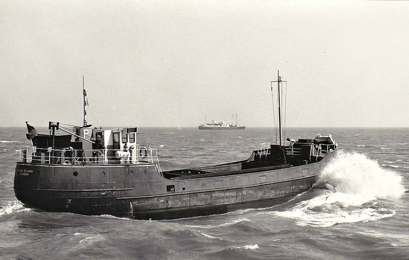 1955 to ???? - GLAS ISLAND - Cargo - 213GRT - 33.1 x 7.6 - 1935 J Pollock & Sons, Faversham, No.1515 as LADY STELLA (1935-55) - about 1980 sank in North Sea.