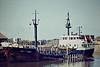 1982 to 1987 - TEES REDWING - Chemical Tanker - 500GRT/1000DWT - 52.7 x 9.7 - 1964 Scheeps de Groot & van Vliet, Slikkerveer, No.355 as DUTCH ENGINEER (1964-82) - 1987 VASILIOS XII, 1997 GULF MAID - 2002 broken up - Kings Lynn, to unload, 07/84.