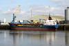 1996 to 2011 - SWANLAND - Cargo - 1598GRT/3150DWT - 81.0 x 13.9 - 1977 Scheeps Friesland, Lemmer, No.360 as CAREBEKA IX (1977-83) - ELSBORG (1983-88), ARTEMIS (1988-94) ELSBORG (1994-96) - 27/11/11 sank 5nm west of Aberdaron, Llandulas for Cowes with limestone, 6 dead - Kings Lynn, loading grain on Alexandra Quay, 16/03/10.