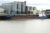 2004 to DATE - SEA KESTREL - Cargo - 1382GRT/2225DWT - 77.7 x 11.8 - 1993 Yorkshire Drydock Co., Hull, No.328 as HOO KESTEL (1993-2003) - UNION SAPPHIRE (2003-04) - still trading - Kings Lynn, unloading animal foodstuff on Alexandra Quay, 05/10/10.