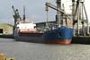 2004 to DATE - SEA KESTREL - Cargo - 1382GRT/2225DWT - 77.7 x 11.8 - 1993 Yorkshire Drydock Co., Hull, No.328 as HOO KESTEL (1993-2003) - UNION SAPPHIRE (2003-04) - still trading - Kings Lynn, loading grain in Bentinck Dock, 25/11/08.