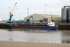 2004 to DATE - SEA KESTREL - Cargo - 1382GRT/2225DWT - 77.7 x 11.8 - 1993 Yorkshire Drydock Co., Hull, No.328 as HOO KESTEL (1993-2003) - UNION SAPPHIRE (2003-04) - still trading - Kings Lynn, unloading animal foodstuff on Alexandra Quay, 05/10/10.