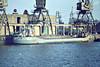 1969 to 1984 - TOWER DUCHESS - Cargo - 200GRT/430DWT - 41.9 x 7.7 - 1969 Clelands Shipbuilders, Wallsend, No.305 - 1984 PARADISE SOUND, 2007 VICTORIA (ECU) - still trading - Boston, unloading fertiliser, 12/80.