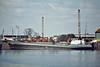 1972 to 2006 - TOWER JULIE - Cargo - 499GRT/920DWT - 55.8 x 9.9 - 1972 Scheeps Bijlsma, Wartena, No.588 - 2006 MALINSKA (HRV) - still trading - Boston, loading grain, 07/81.