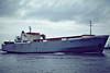 1974 to 1992 - BALTIC PROGRESS - RoRo/Cargo - 4668GRT/5710DWT - 137.5 x 22.4 - 1974 Rauma Repola, No.216 - 1992 TYNE PROGRESS, 1994 PARKHAVEN, 1998 VEERHAVEN, 1998 STROFADES II, 2006 SAN DIEGO - 03/08 broken up at Chittagong - Tilbury, outward bound, 12/81.