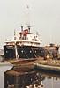 1963 to 1985 - GLADONIA - Cargo - 658GRT/906DWT - 56.8 x 9.1 - 1963 Goole Shipbuilders, No.540 - 1985 INTEGRITY, 1987 GLADONIA, 1997 SAMARET JAMA - 12/99 sank at Puerto Cabella - seen here on Gas House Quay, Goole, in 10/94