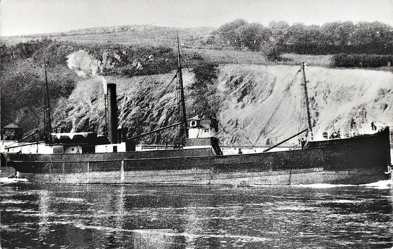1890 to 1938 - CORNELIAN - Cargo - 408GRT - 43.4 x 7.7 - 1890 Scott & Co., Bowling, No.77 - 08/38 broken up in Germany.