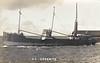 1921 to 1940 - ESSONITE - Cargo - 642GRT - 53.4 x 8.6 - 1921 Yarrow Shipbuilders, Scotstoun, No.1460 - 1940 MEG MERRILIES - 27/03/41 sunk by aircraft bombs 1nm south of St Govans LV.
