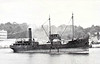 1924 to 1950 - TURQUOISE - Cargo - 570GRT - 50.4 x 8.1 - 1924 Ailsa Shipbuilding Co., Troon, No.391 - 1950 TYNECASTLE - 11/59 broken up at Rotterdam.