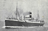 1908 to 1915 - HESPERIAN - Pass/Cargo - 10920GRT - 148.0 x 18.4 - 1908 Alexander Stephan & Co., Linthouse, No.425 - 04/09/15 torpedoed by U20 85nm off Fastnet, 06/09/15 sank in tow.