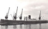 1952 to 1960 - RAMSAY - Cargo - 6273GRT/10270DWT - 137.3 x 18.0 - 1952 Smiths Dock Co., South Bank, No.1226 - 1960 ANISBAKSH - 12/12/71 damaged by aircraft bombs at Chittagong, 23/04/72 broken up at Chittagong.