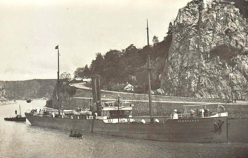 1886 to 1909 - REMBRANDT - Cargo - 1828GRT - 1886 JL Thompson & Sons, North Sandsm No.217 - 1909 PRESIDENTE PRIETO - 1912 total loss.