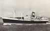1955 to 1964 - HUBERT - Pass/Cargo - 7905GRT/6342DWT - 133.8 x 18.4 - 1955 Cammell Laird & Co., Birkenhead, No.1250 - 1964 MALAYSIA, 1976 UNITED CHALLENGER,1976 converted to livestock carrier, 8062GRT, renamed KHALIJ EXPRESS - 04/84 broken up at Alang.