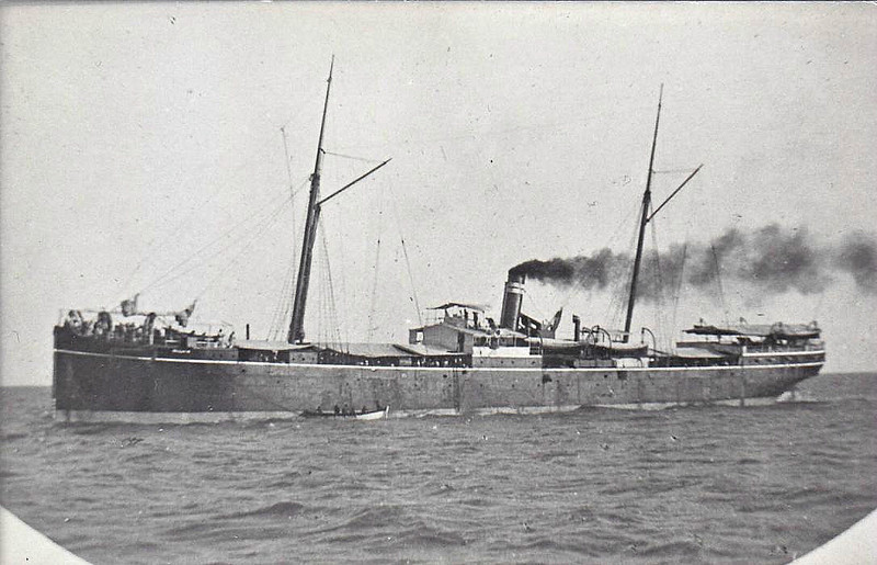 1880 to 1904 - HUZARA - Pass/Cargo - 2078GRT - 86.7 x 10.7 - 1880 AJ Inglis & Co., Pointhouse, No.155 - 06/04 broken up at Bombay.