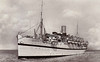 1912 to 1945 - NEURALIA - Passenger - 9082GRT - 146.5 x 17.7 - 1912 Barclay Curle & Co., Whiteinch, No.497 - 1914-18 troop transport, 1939 troop transport, 01/05/45 sunk by Allied mine southeast of Taranto, 4 dead - seen here on trooping duty in World War 1.