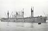 1947 to 1952 - BISHAM HILL - Cargo - Liberty Ship - 7210GRT/10865DWT - 134.6 x 17.3 - 1944 Bethlehem Fairfield Shipyard, Baltimore, No.2319 as SAMLEVEN (1944-47) - 1952 NAUSICA, 1956 PRAGLIA, 1959 VASSILIKI - 31/03/70 wrecked on Mayaguana Island, Turks and Caicos Islands, Augusta for Havana with fertiliser.