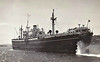 1947 to 1951 - MILL HILL - Cargo - Liberty Ship - 7210GRT/10865DWT - 134.6 x 17.3 - 1944 Bethlehem Fairfield Shipyard, Baltimore, No.2334 as SAMEDEN (1944-47) - 1951 EDUCATOR, 1961 KANARIS, 1966 SPLENDID SKY - 01/70 broken up at Antwerp - seen here as MILL HILL (Counties Ship Management).