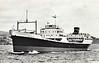 1953 to 1970 - GLEDDOCH - Ore Carrier - 6859GRT/9150DWT - 130.1 x 17.5 - 1953 Lithgows Shipbuilders, Port Glasgow, No.1094 - 1970 ALDO CECCONI - 03/78 broken up at Vado Ligure.
