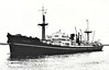 1944 to 1955 - TREVIDER - Cargo - 7373GRT/10272DWT - 136.3 x 17.7 - 1944 Lithgows Shipbuilders, Port Glasgow, No.986 - 1955 EASTGATE, 1956 BALKAN - 16/01/68 wrecked off Lattakia, 06/68 broken up at Split.