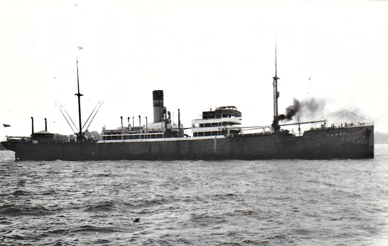1920 to 1937 - TAPTI - Cargo - 4706GRT/7934DWT - 121.7 x 16.4 - 1914 Nepyun AG, Rostock, No.337 as ULM (1914-20) - 1937 LEANA - 07/07/43 torpedoed and sunk by U198 off Mozambique, Mombasa to Lourenco Marques in ballast, 2 dead.