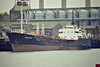 1968 to 1988 - SILVERMERLIN - Tanker - 1259GRT/1901DWT - 77.3 x 12.3 - 1968 Lodose Varf, No.154 - 1988 SANDMARTIN, 1992 SILVERMERLIN, 1994 ARUN, 1996 FERMAN GOLD - 02/01 broken up at Aliaga - Ipswich, discharging, 08/84