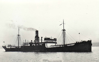 1924 to 1941 - LINARIA - Cargo - 3385GRT/5700DWT - 100.9 x 14.6 - 1924 Sunderland Shipbuilding Co., South Dock, No.331 - 24/02/41 torpedoed and sunk in Convoy ONS67 600nm northeast of Cape Race by U94.