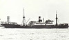 1925 to 1941 - TABARISTAN - Cargo - 6251GRT/8930DWT - 128.6 x 17.1 - 1914 Schiffs Weser, Bremen, No.202 as FRANKENFELS (1914-25) - torpedoed and sunk 300nm west of Monrovia by U38, Basrah to UK.