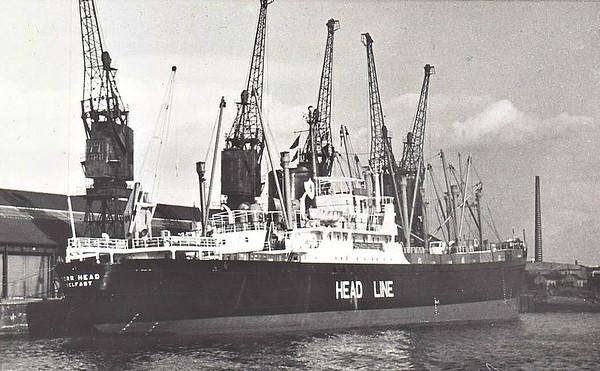 ULSTER SS CO. (HEAD LINE), Belfast