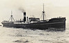 1922 to 1942 - EASTMOOR - Cargo - 5812GRT/9195DWT - 121.9 x 16.1 - 1922 Northumberland Shipbuilding Co., Howdon-on-Tyne, No.260 - 31/03/42 torpedoed and sunk southeast of Rhode Island by U71.