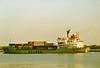 1983 to 2010 - STANKO STAIKOV (Varna) - IMO8201301 - Container - 9549GRT/11047DWT - 148.7 x 21.5 - 1983 Georgi Dimitrov Shipyard, Varna, No.203 - 04/10 broken up at Alang - seen here 07/85.