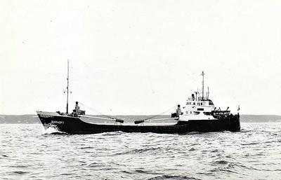 1956 to 1973 - BARHOFT - Cargo - 430GRT/563DWT - 49.9 x 8.3 - 1956 Elbewerft, Boizenburg, No.1706 - 1973 BAR, 1974 SEA CALM, 1975 POROS, 1976 AGIOS DIONISSIOS (GRC) - still trading.