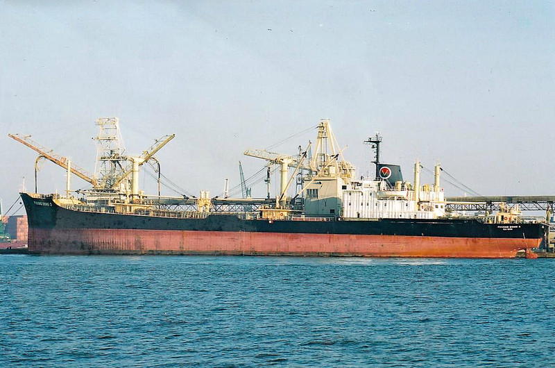 2000 to 2011 - PHUONG DONG 3 - Cargo - SD15 Type - 8887GRT/15147DWT - 144.0 x 20.5 - 1986 Smiths Dock Co., South Bank, No.1357 as SOUTH ISLANDS (1986-00) - 2011 SUNRISE 18 (VNM) - still trading.