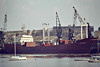 1980 to 1997 - SABARENI - Cargo - 3374GRT/4620DWT - 106.1 x 14.8 - 1980 Braila Santieural Navale, No.1226 - 1997 NATACHA I, 1999 ZAID - 08/06 broken up at Alang - seen here at Ipswich, 04/85