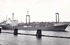 1973 to 1998 - RIMNICU VILCEA (Constanza) - IMO7328554 - Cargo - 3532GRT/4795DWT - 10.1 x 14.8 - 1973 Galati Shipyard, No.634 - NAVROM - 1998 RIM - 06/12 exiastence in doubt - seen here 11/73.