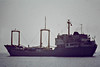1975 to 2000 - TIRNAVENI - Cargo - 3531GRT/4795DWT - 106.1 x 14.8 - 1975 Braila Santieural Navale, No.1160 - 2000 EAGLE I, 2003 PHILADELPHIA, 2003 RANIM B. - 04/10 broken up in India - seen here sailing from Felixstowe Dock, 08/81.