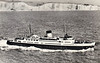 1940 to 1973 - INVICTA - Passenger - 4178GRT/447DWT - 106.2 x 15.9 - 1940 W Denny & Bros, Dumbarton, No.1344 - Dover/Calais service - 1940 to lay up on completion due to War, 1941 to Royal Navy as Landing Ship Infantry, LSI(H) - 08/42 Dieppe, 06/44 Normandy Landings, 12/45 returned to owners - 01/73 broken up at Bruges.