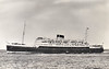 1949 to 1976 - HIBERNIA - Passenger - 4972GRT/802DWT - 121.0 x 17.1 - 1949 Harland & Wolff, Belfast, No.1367 - 2000 passengers - Holyhead/Dun Laoghaire service - 1976 EXPRESS APOLLON - 12/80 broken up at Bombay.