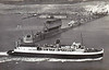 1934 to 1971 - HAMPTON FERRY - Train Ferry - 2839GRT - 105.7 x 18.5 - 1934 Swan Hunter & Co., Wallsend, No.1448 - 12 coaches or 40 wagons - 08/39 to Royal Navy as Minelayer, 07/40 Stranraer/Larne freight service, 07/44 re-equipped for delivering railway stock to Normandy Beaches, 12/47 returned to owners, Stranraer/Larne, 1961 Dover/Dunkerque, 1971 TRE ADDUR - 07/73 broken up at Valencia.