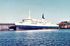 1968 to 1983 - MUNSTER - Pass/RoRo - 4067GRT/786DWT - 110.2 x 18.1 - 1968 Werft Nobiskrug, Rendsburg, No.657 - 1983 FARAH, 1983 FARAH I, 1990 TIAN PENG - 2002 broken up in China - seen here in Liverpool in 06/80.