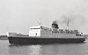 Belfast SS Co. - 1967 to 1982 - ULSTER QUEEN - Pass/RoRo - 4479GRT/1390DWT - 115.0 x 16.5 - 1967 Cammell Laird & Co., Birkenhead, No.1323 - 1000 passengers - new to Liverpool/Belfast night service - 1982 MED SEA, 1986 AL KAHERA, 1987 ALA-EDDIN, 1988 POSEIDONIA, 2000 LA PATRIA, 2002 POSEIDONIA, 2005 AL-KAHFAIN - 01/11/05 fire off Hurghada, capsozed in tow, sank, Hurghada for Jeddah.