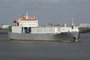 1992 to DATE - CYMBELINE - Roro Cargo - 11866GRT/7000DWT - 147.0 x 21.0 - 1992 Dalian Shipyard, China, No.R70/4 - outward bound from Fords Jetty for Vlissingen, 28/04/13.