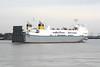 2000 to DATE - VICTORINE - Roro Cargo - 23987GRT/9755DWT - 162.5 x 25.6 - 2000 Kawasaki Zosensho, Sakaide, No.1491 - outward bound from Purfleet for Zeebrugge, 29/07/10.